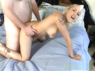 Tiny dick nerd fucking a hot blonde
