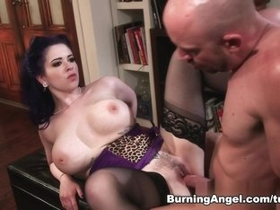 Best pornstars Will Powers, Larkin Love in Exotic Stockings, Brunette porn movie