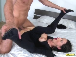 Best pornstars Sasha Rose, Kai Taylor in Incredible College, Brunette sex video