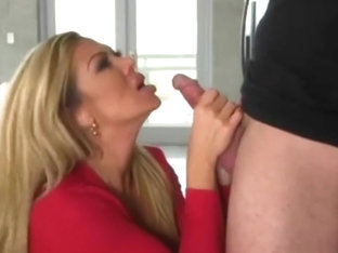 Sneaky MILF Nina Dolce Makes a Move on her Stepdaughters Boyfriend