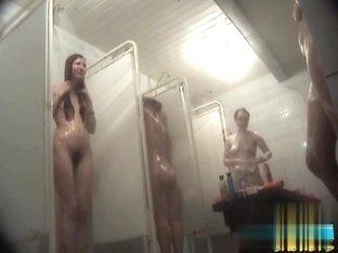 Hidden cameras in public pool showers 739
