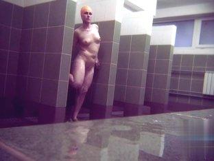 Hidden cameras in public pool showers 985