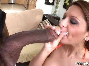 Alison Star in Black dick for a white euro girl