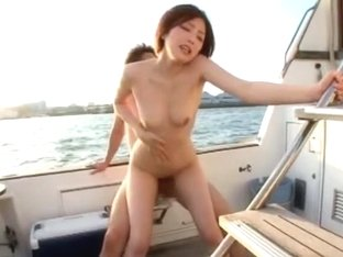 Hottest Japanese girl Ai Haneda in Crazy Doggy Style, Outdoor JAV scene