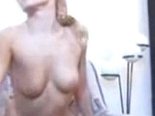 Nice Russian blonde screwed and sprayed