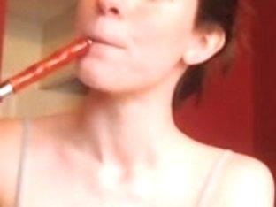 Fingering my twat on a webcam show