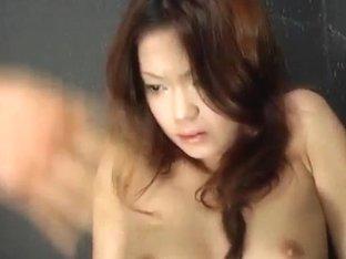 Kaoru Mugi is fucked with vibrator and cock under pink