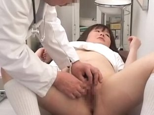 Real gyno porn video with dripping pussy examination