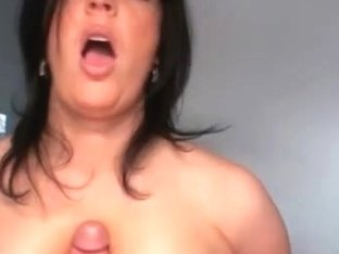 Boob job from busty shameless babe, take a look