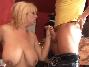 Tit-Fucking Huge Tits