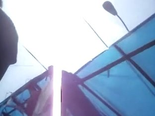 Upskirt voyeur video with the most fantastic ass