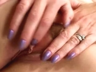Mature redhead wife rubbing her fur pie hubby records