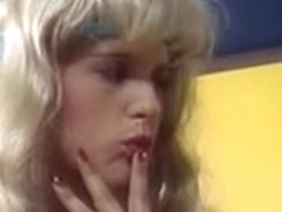 Vintage lesbian video with two inexperienced teen girls