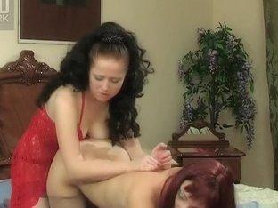 LickNylons Clip: Melanie A and Rita