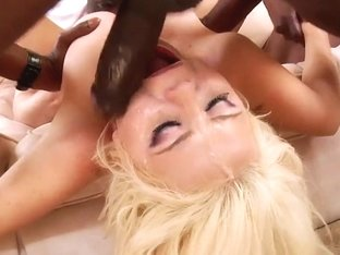 Alexis Ford gets her face drenched with warm cum