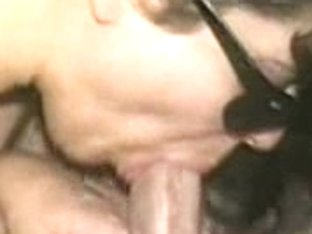 Wife showing her expert cock sucking skills on amateur camera