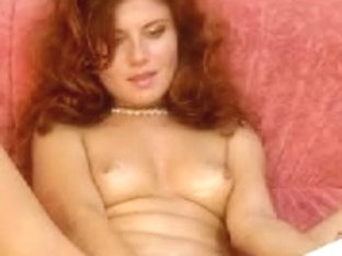 Hot red hair does webcam sex video