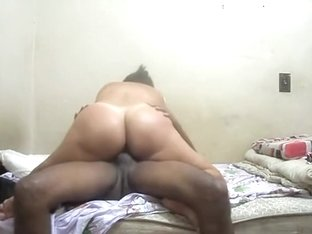 Great interracial doggy banging
