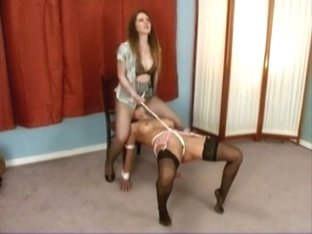 Lesbian Pantyhose Domination and Facesitting Therapy