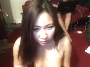 Asian immature Fucks Boyfriend on Cam Part 1