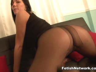 Amazing pornstar in Incredible Stockings, Brunette sex video