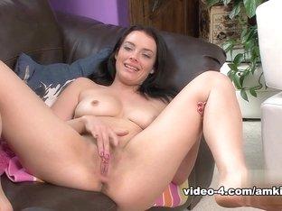 Amazing pornstar Kayla West in Incredible Brunette, Masturbation porn clip