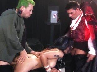 Extreme freak fucking session with horny Shay Sights!