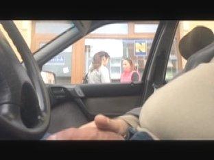 flashing in car 12