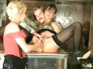 Fisting on the counter