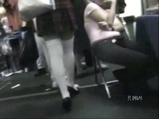 Sexy Asian schoolgirl