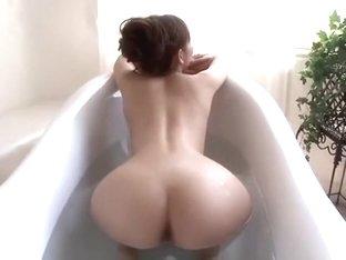 Horny Japanese slut Jin Yuki in Fabulous Fingering, Creampie JAV video