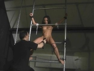 Cocktail of lust, harsh punish and moans of pleasure in bdsm