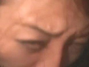 Older cougar has her face skull drilled
