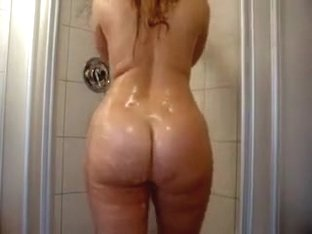 Traditional Blonde PAWG in Her Primary Requires Bath