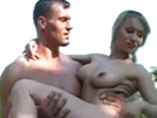 Russian pool fuck