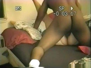 White milf has a hiddenary sex fantasy with her black bf