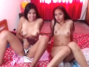 Two brunette lesbians DakotaHotts