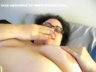 cum spill on my tits