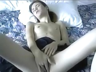 Flat chested girl knows how to give head and wants her ass spanked hard