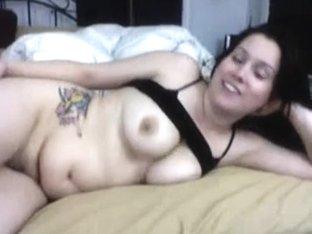 My chubby busty girlfriend nailed