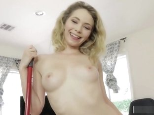 Blonde Step Sis Angel Smalls Takes Cock In Cunt