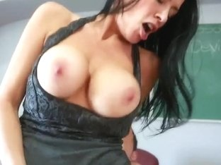 Johnny Castle fucks busty slut Vanilla DeVille