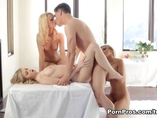 Crazy pornstar Abigaile Johnson in Exotic Blonde, Group sex porn movie