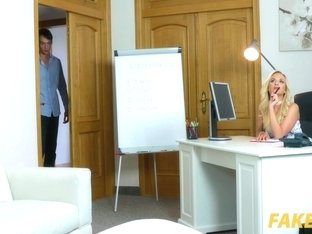 Cristal Caitlin In Studs body makes agent cock hungry