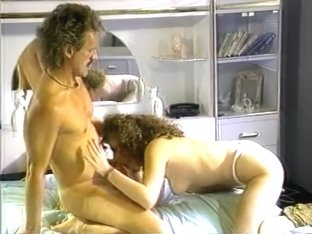 Slut masturbates and rides his cock