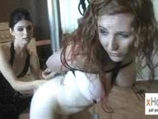 Shelady Lesbos Mandy and Juliette with Servitude