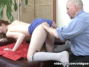 Horny pornstar in Amazing Oldie, Stockings xxx movie