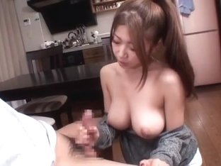 Exotic Japanese chick Yuka Minase in Amazing Big Tits, POV JAV movie