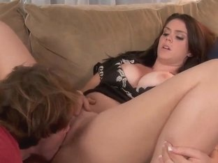 Heavy chested slut Alison Tyler seduced Evan Stone