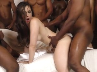 Casey Calvert Gets Assbanged By Black Guys